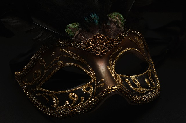elaborate masquerade mask