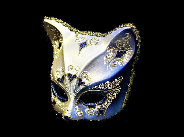 Kitty cat masquerade mask